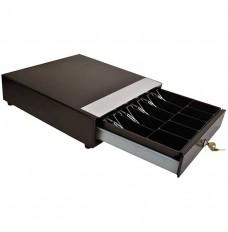 BLACK Manual Cash Drawer Model HP-123-5/5