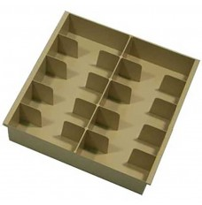 Plastic Cash Tray - 10 Compartments