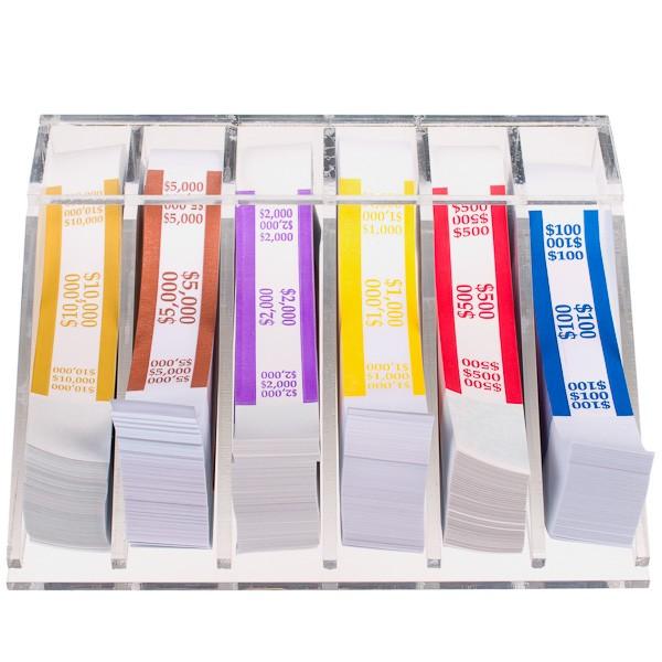 clear bill strap rack organizer